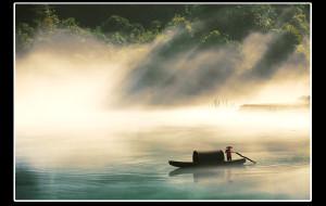 【郴州图片】雾气迷蒙小东江
