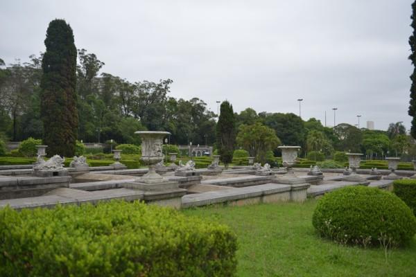 南美行 巴西 圣保罗 独立公园与涂鸦墙图片