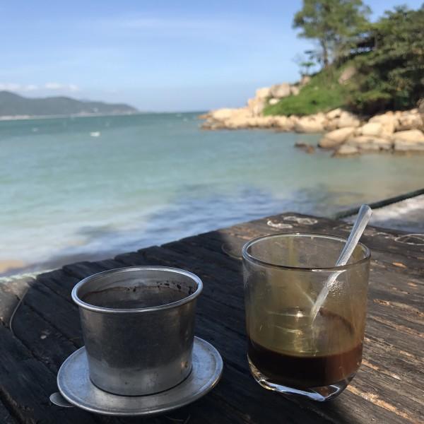 芽庄珍珠岛咖啡