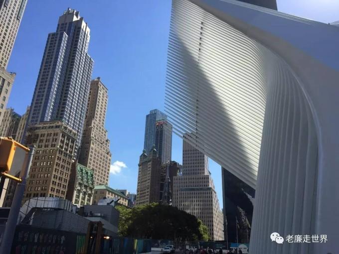 世贸大厦 纪念设计