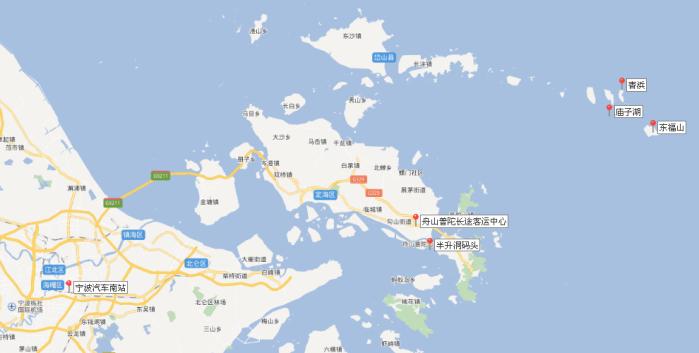 杭州到东极岛怎么去方便?