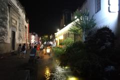 夜游黎阳巷