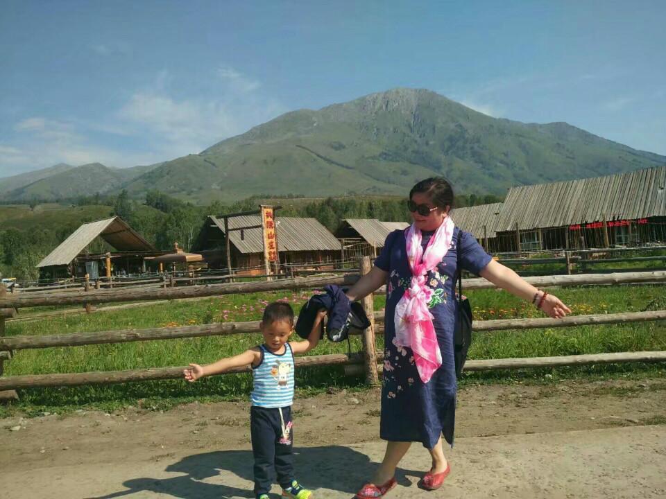 什么而又美丽的小村庄--禾木村
