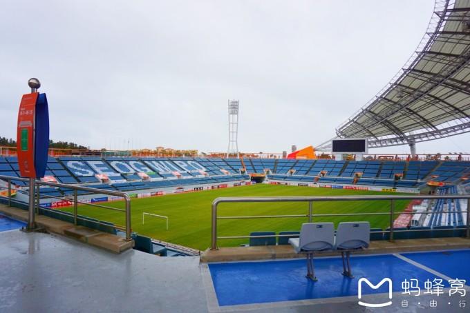 第五站 西歸浦世界杯足球場  這一站是我來西歸浦的最重要的原因  牛圖片
