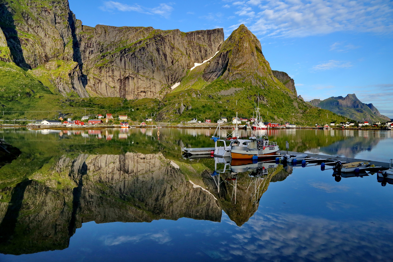 挪威罗佛敦群岛--北极圈中的仙境_游记
