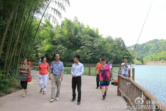 贵州赤水天岛湖—养生避暑胜地(优越的环境,洁净的空气,干净的水质)