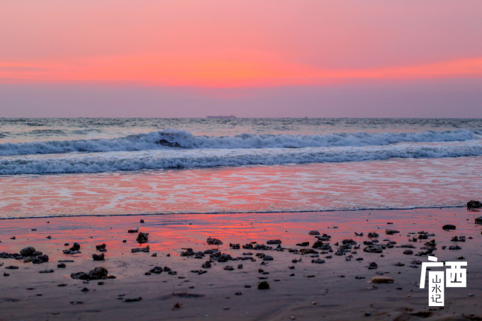 粉色大海壁紙iphone