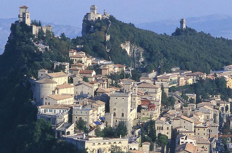 圣马力诺人口_教皇国的起源