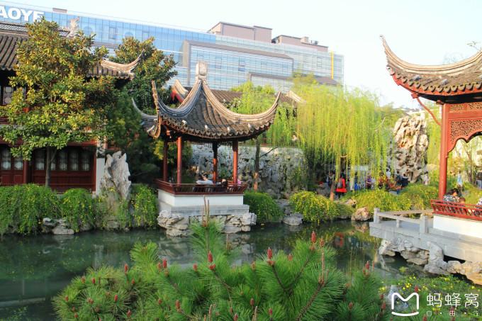 南京瞻园局部手绘图