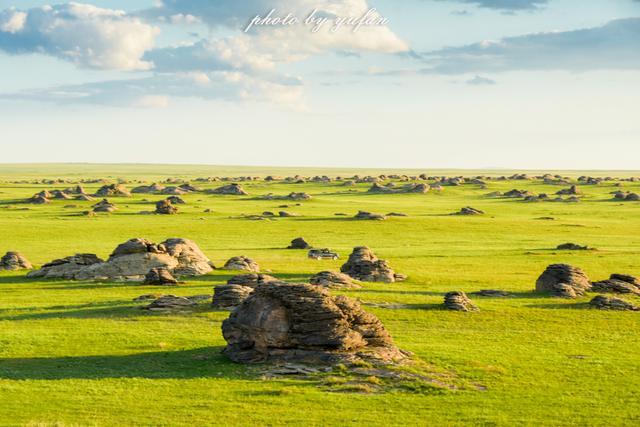中国与蒙古边境发现罕见的草原石林,不要门票却风光无敌_游记