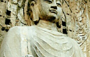 【龙门石窟图片】卢舍那大佛--我心中的东方美人