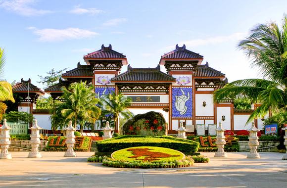 """三亚市南山寺,位于海南省三亚市以西40公里南山文化旅游区内的"""""""