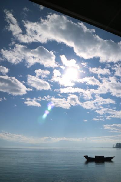 冬天里的碧海蓝天.