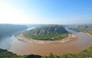 【延安图片】沿着黄河看遍晋陕两省黄河流经形成的大弯道美景
