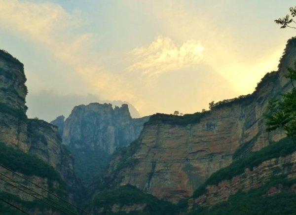 (原创)游记采风:太行大峡谷游之石板岩小镇(二)