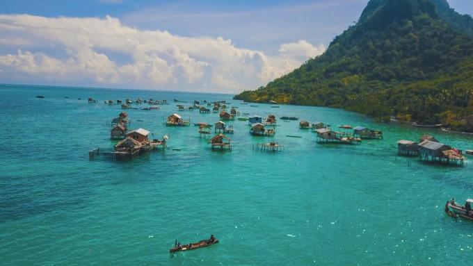 遗落在马来西亚的蓝宝石 沙巴 仙本那 (旅游视频) 潜水之旅 solo游