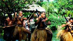夏威夷景点-波利尼西亚文化中心(Polynesian Cultural Center)