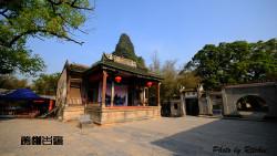 黄姚古镇景点-古戏台