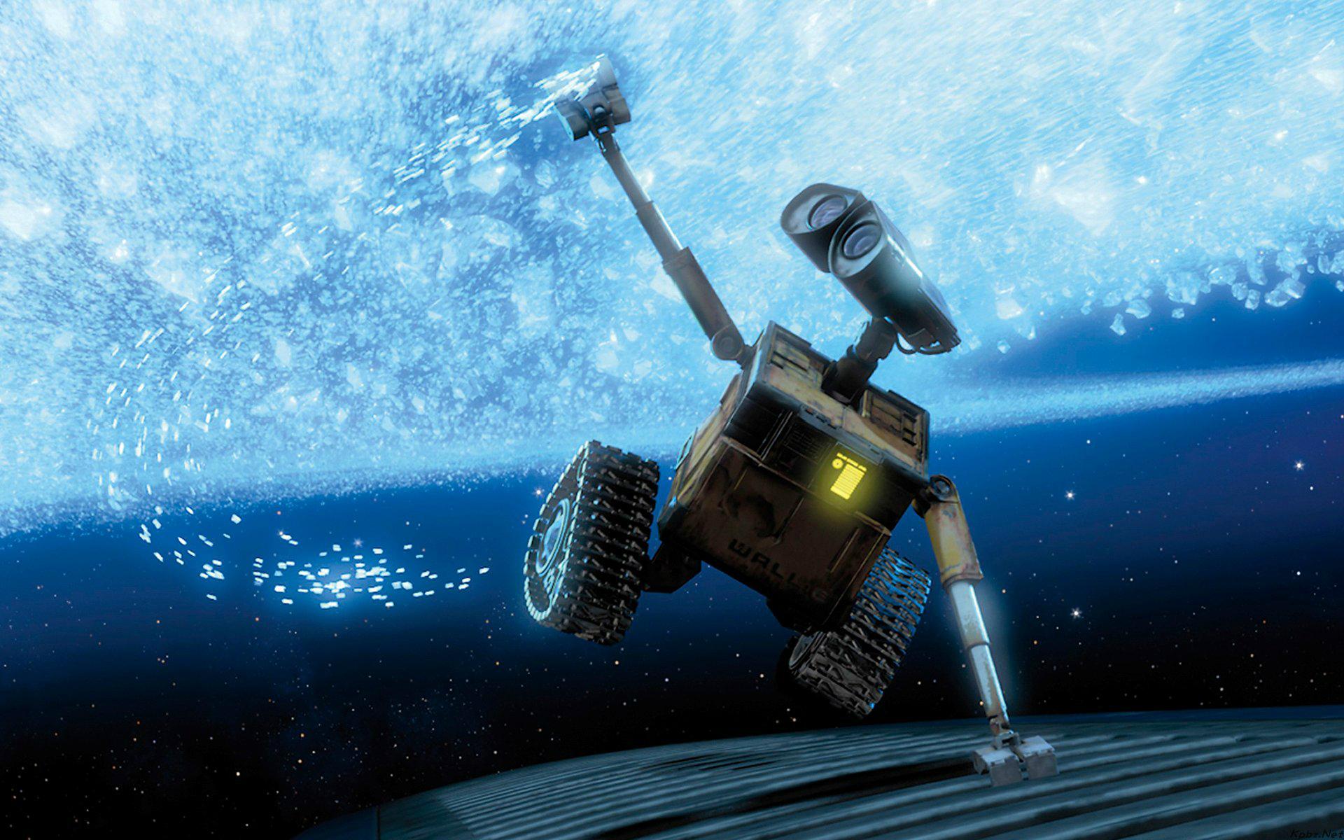 最喜欢的电影-《机器人总动员》