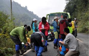 【崇州图片】我们一直在一起----国庆自虐崇州鸡冠山负重徒步三日游
