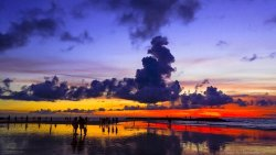 巴厘岛景点-库塔海滩(Kuta Beach)
