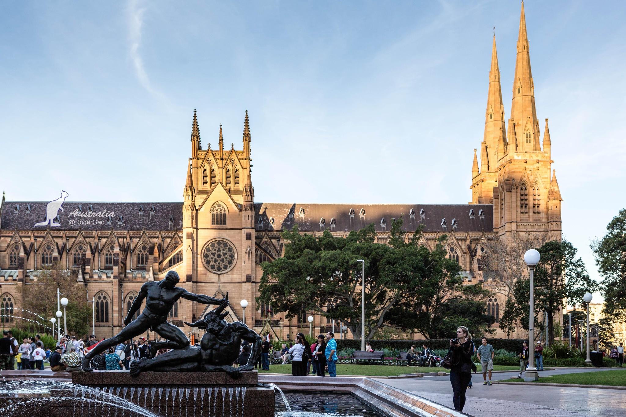 澳大利亚——悉尼海德公园
