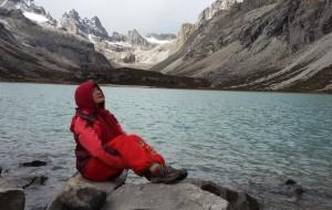 【格聂图片】肖扎湖,我,真的,来到了您的跟前,似乎前世已说好
