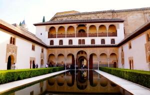 【格拉纳达图片】【Lin】西班牙:阿尔罕布拉宫——格拉纳达最令人称奇的地方 ❽