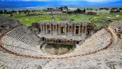 土耳其景点-赫拉波利斯遗址(Hierapolis)