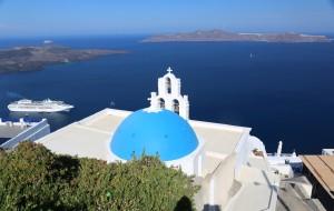 【费拉图片】#消夏计划#我的世界旅之梦-希腊雅典+梅黛奥拉+米克诺斯镇+圣托里尼10日跟团游第6天⑦圣托里尼岛
