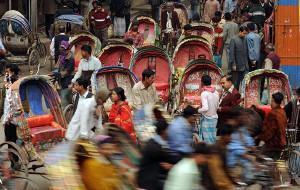 【孟加拉国图片】【孟加拉国】三轮,达卡的第一道风景线