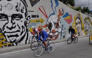 【哥伦比亚图片】#消夏计划#哥伦比亚——波哥大流光溢彩的涂鸦天堂