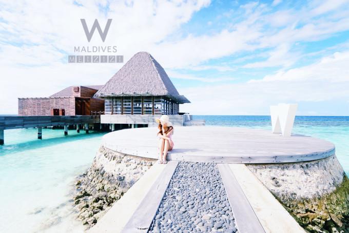 带着摄影师去旅行--美滋滋的马尔代夫假期-w宁静岛
