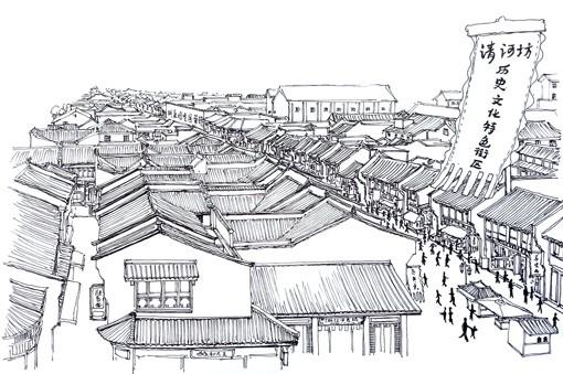 胡庆余堂,清代徽派古建筑群,中山中路这一条都是古建筑群比较多