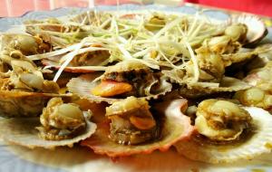 日照美食-老东方水饺海鲜炒鸡店