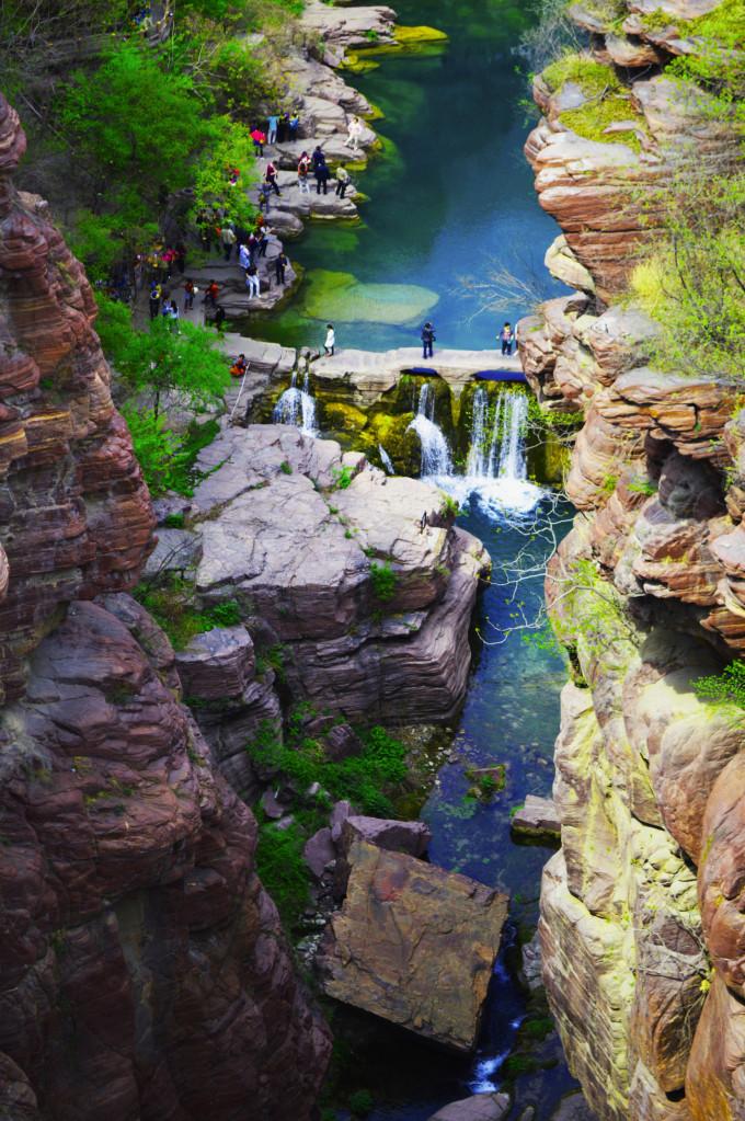 壁纸 大峡谷 风景 680_1023 竖版 竖屏 手机