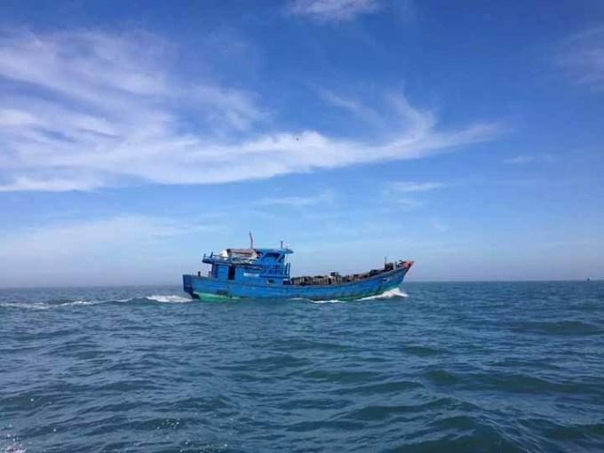 中国式马尔代夫之旅之汕头南澳岛南彭列岛游艇观光
