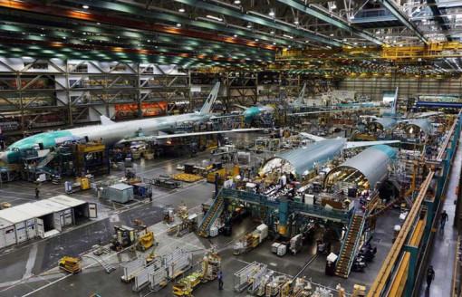 波音工厂,带您走进全世界最大的飞机制造商,波音工厂全面了解人类的