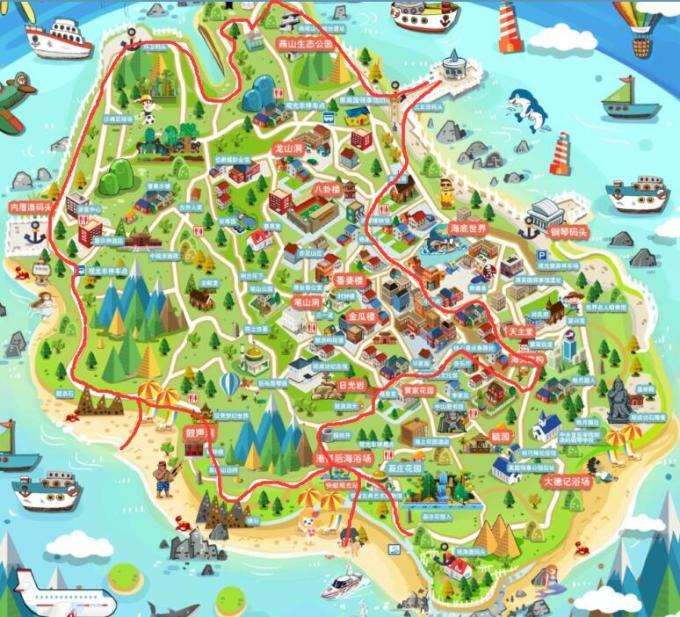 厦门电子地图高清版