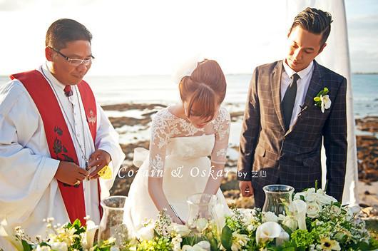 【芝心海外摄影婚礼】巴厘岛四季酒店悬崖草坪婚礼套