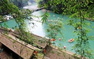 【彭水图片】【正青春,去远行】彭水阿依河,忆一次夏日的徒步之旅