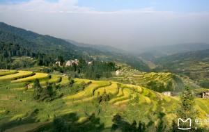 【黔东南图片】金色梯田------藏在黔东南(肇兴侗寨--堂安侗寨)深山中的绝美风光