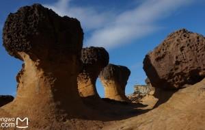 【基隆图片】野柳沒有野柳,有的是海天一色和嶙峋怪石