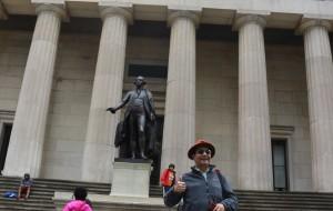 【纽约图片】北美之旅...纽约联邦大厅国家纪念堂风景实拍