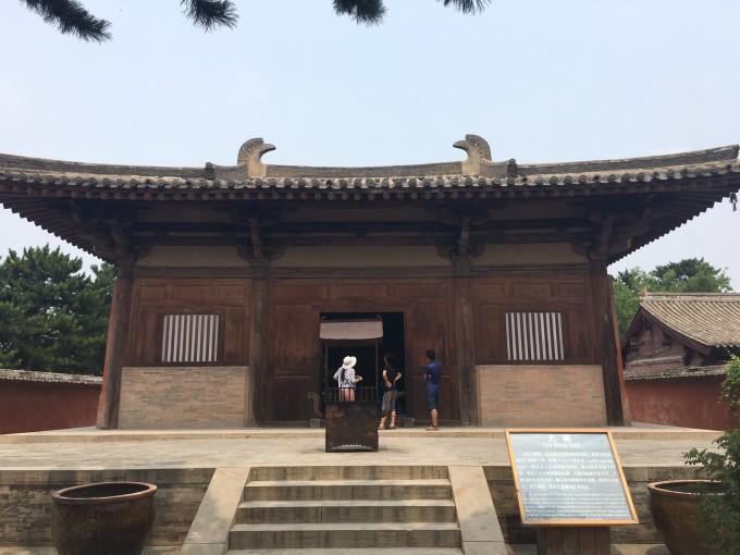 西 寻找最古老的木构建筑 忻州 五台 南禅寺