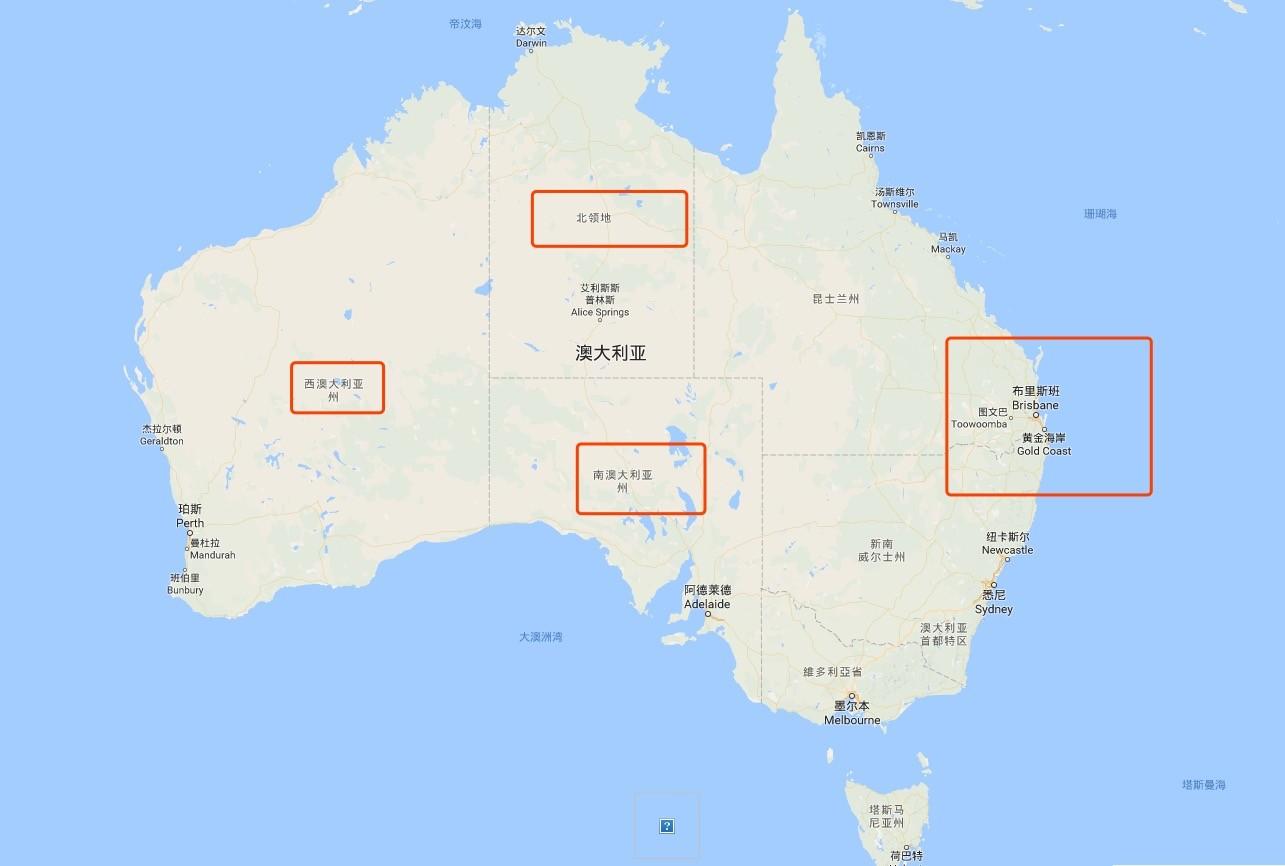 初访澳洲去哪儿玩?你不知道的五大路线!